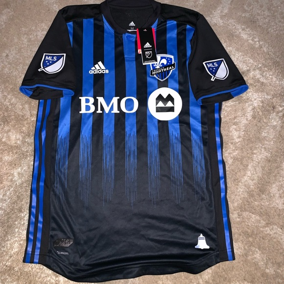 low priced 1b148 018df ADIDAS MLS MONTREAL IMPACT HOME JERSEY (NEW) NWT